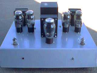 Interstage Coupled PP 6B4G Amplifier